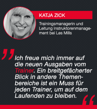 Trainer-Magazin Testimonial Katja Zick