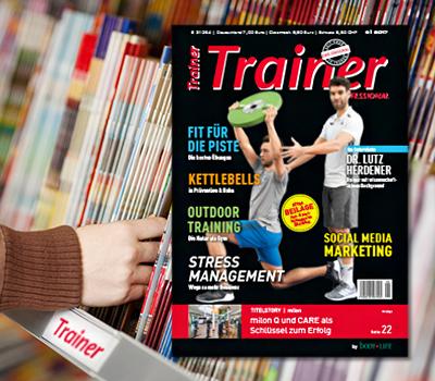 Trainer am Kiosk Banner Ausgabe 1706