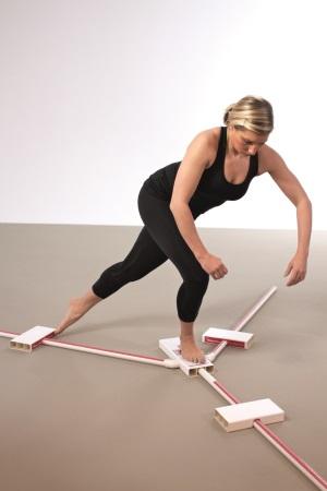 Durch den Y-Balance-Test kann das Verletzungsrisiko getestet werden