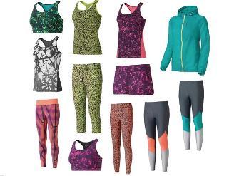 Die neue Herbst-/Winterkollektion von Casall in bunten Farben und verschiedenen Mustern