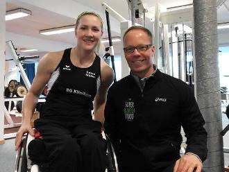 Edina Müller, Vize-Weltmeisterin im Kanufahren wird ab sofort von Marcus Schall betreut