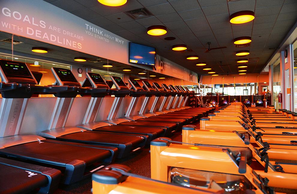 """Das Laufbandtraining wird im """"Orangetheory Fitness"""" zudem durch TRX-Suspension-Training ergänzt - Fotos: Orangetheory Fitness"""