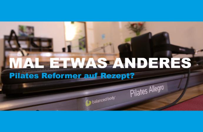 Pilates Reformer auf Rezept