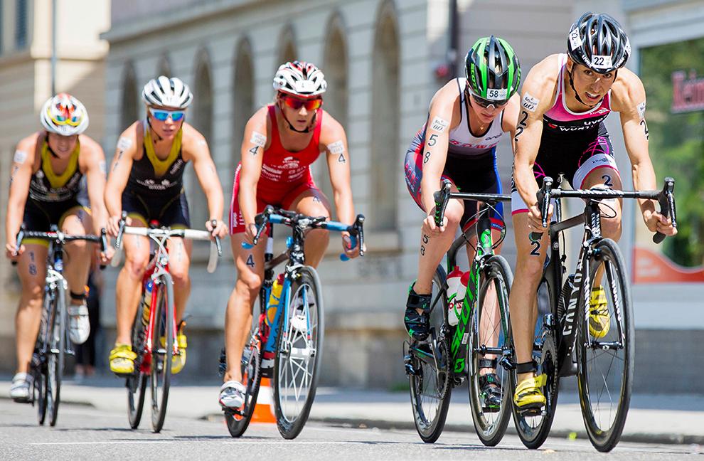 Bei der Wahl der optimalen Trittfrequenz ist das Gefühl der Sportler nicht unbedingt der geeignetste Indikator. Foto: Deutsche Triathlon Union