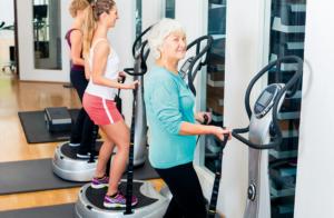 Fitnesskonzepte auf wenigen qm: Vibrationstraining