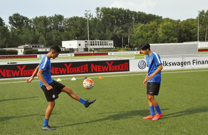 Beispiele aus der Fußballausbildung