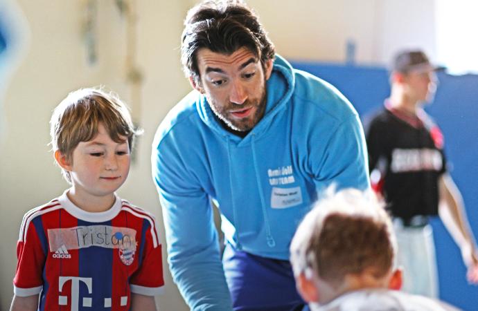 Athletiktraining mit Kindern