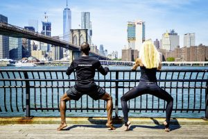 Training an der Ballettstange