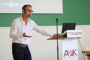 Athletikkonferenz an der Sportschule Hennef
