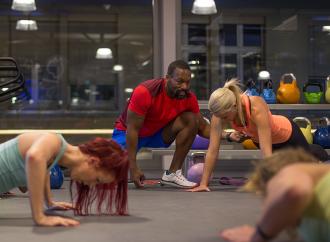 Das beste 40-Minuten-Workout fürs Fitnessstudio