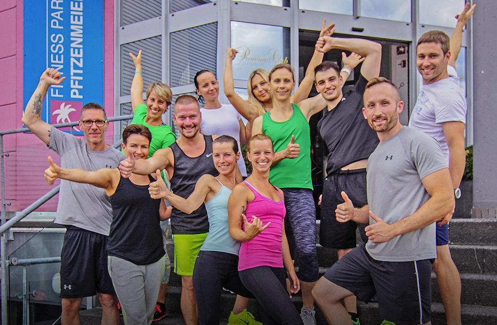 Elf motivierte Teilnehmer mit Referentin Franziska Piel. Fotos: Dr. Christian Maurer