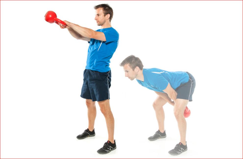 Übung 1 Kettlebells Trainer Magazine