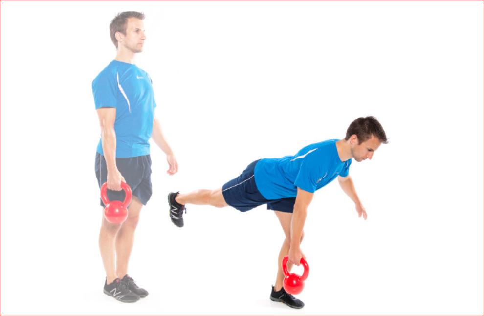 Übung 2 Kettlebells Trainer Magazine