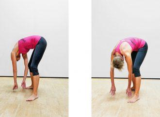 Rückenschmerzen:  3 Übungen für die Fascia thoracolumbalis