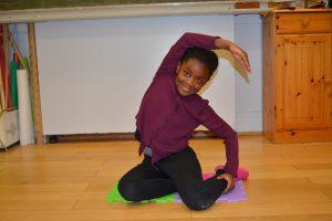Pilates im Klassenzimmer