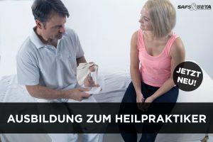 NEUE AUSBILDUNG ZUM HEILPRAKTIKER von SAFS&BETA